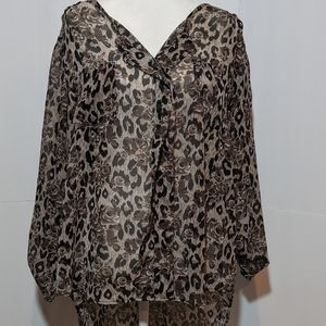 DNA couture Women's Tunic Top 3X